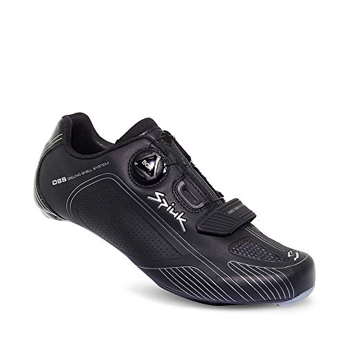 Spiuk Altube Road Zapatilla, Unisex Adulto, Negro Mate, 42