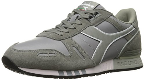 Diadora Men's Titan Leather L/S Skate Shoe,Ash Grey,11 M US
