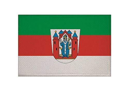 U24 Aufnäher Aschaffenburg Fahne Flagge Aufbügler Patch 9 x 6 cm