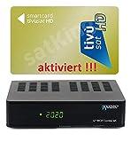 Set: TIVUSAT HD Gold Karte AKTIVIERT + 4K UHD Combo Receiver - Italienisch Tivusat Sender...