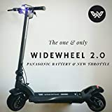 Ecosmart Riders Mercane WideWheel Pro 2.0 | Dual Motor 1.000W | Deluxe Electric Scooter