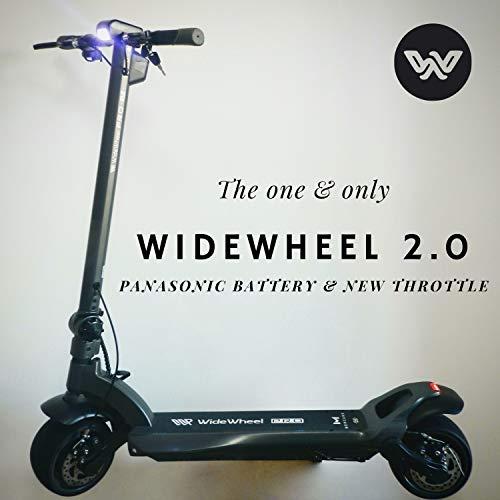 Ecosmart Riders Patinete Eléctrico Mercane WideWheel Pro 2.0   Dual Motor 1000W