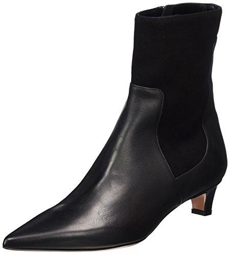 Oxitaly Damen Sandra 341 Chelsea Boots, Schwarz (Nero), 41 EU