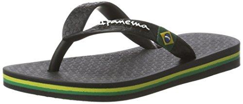 Ipanema Unisex-Kinder Classic Brasil II Kids Zehentrenner, Mehrfarbig (Black 8041), 33/34 EU