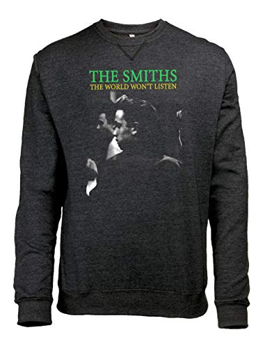 de Morrissey and The Smiths The Smiths The World Won'T Listen Camiseta para Hombre.