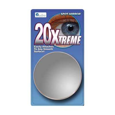 ZADRO 20x Extreme Magnification Suction Cup Spot Mirror (Model: FC20X)