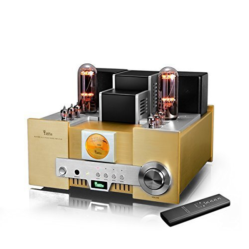 YAQIN MS-650B 8452 Class A Single Ended Integrated Tube Amplifier with Remote Control