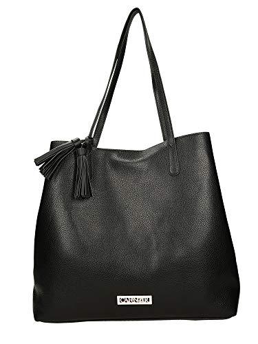 CafèNoir Shopping bag nero borsa donna BF170
