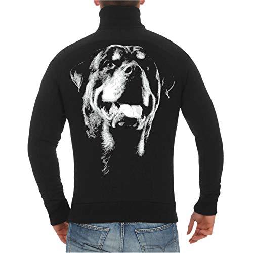 Spaß kostet Männer und Herren Jacke Rottweiler Grösse M bis 5XL
