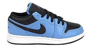 Nike Jordan 1 Low Grade School GS University Blue/Black/White  Numeric_6