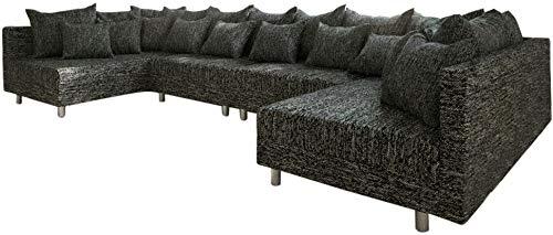 Couch Clovis XL Wohnlandschaft Modulsofa Design Couch