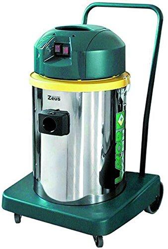 Lavor Wash 8.215.0501 LAVOR 0501-Aspirador Profesional de polvo y líquido ZEUS If 1200/1400 W 53 L/s 24/2400 Vacío kPa/mmH2O depósito 50 lt, Acier Ino