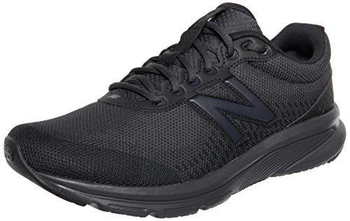 New Balance M411LK2 Zapatillas para Correr Hombre, Negro (Black), 41.5 EU X-Wide