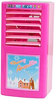 مجموعة ألعاب شخصيات الحركة للأطفال محاكاة الأجهزة الصغيرة الصغيرة هدايا الفتيات مكيفات الهواء الصغيرة