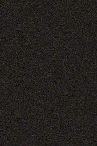 Selbstklebende Rückseite, A4-Bogen aus Samt Velours, zum Basteln, d-c-fix, Vinyl-Aufkleber, Schwarz