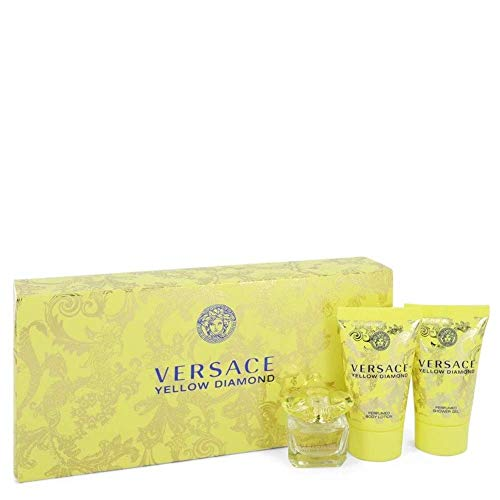 Versace Yellow Diamond By Versace For Women - 2Pc Gift Set