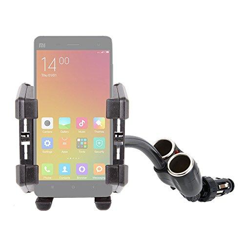 DURAGADGET Soporte De Coche Flexible para Xiaomi MI4   MI Note (Pro)   MI 4i   Mi 2a - para Mechero del Coche