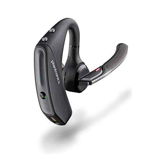 Plantronics - Voyager 5200 (Poly) - Auricolare Bluetooth Over-the-Ear (monofonico) - Compatibile per il collegamento a telefoni cellulari - Cancellazione del rumore