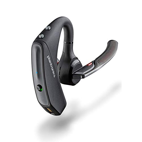 Plantronics - Voyager 5200 (Poly) - Bluetooth Over-the-Ear (Monaural) Headset - Compatible to connect to Cell Phones - Noise Canceling