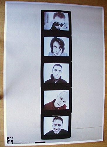 Poster Radiohead Riesenformat 100 x 140 cm Giant-Poster XXL-Poster