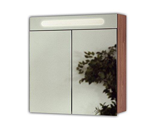 Posseik Spiegelschrank, MDF, Natur, l x 20 cm b x 68 cm h