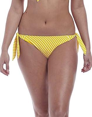 Freya Beach Hut Rio Scarf Side Tie Bikini Bottom, S, California