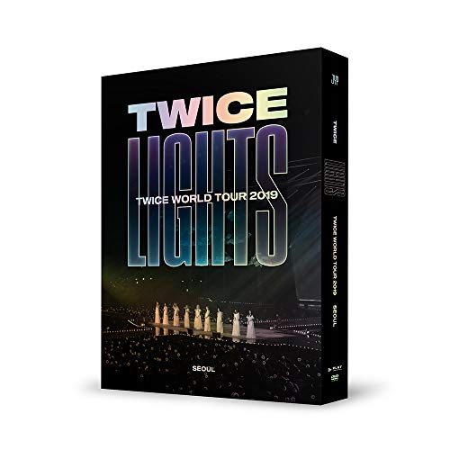 JYP Twice - Twice World Tour 2019 'TWICELIGHTS' in Seoul DVD+Folded Poster+Extra Photocards Set International Korean Music Pop Posters Prints