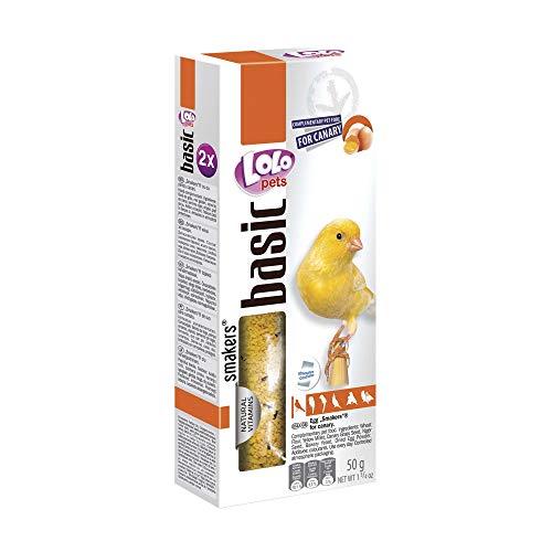 LOLO Pets Lolo 2 Barritas Huevos 50 GS Canarios 114.999999999999 g
