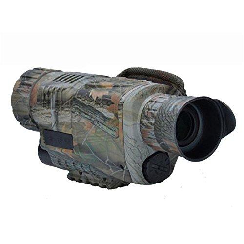 Dispositivo de visión Nocturna, Grabación Recargable Gafas de visión Nocturna infrarrojas Digitales, Viajar, Aire Libre, Hacer Turismo, Observación Deportiva, Escalada - Camuflaje