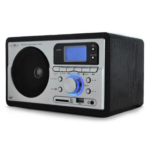 Reflexion HRA-3000 diseño de Radio (MP3/WMA-reproducción, FM/Am-Tuner, USB/SD/MMC-Ranuras para Tarjetas)
