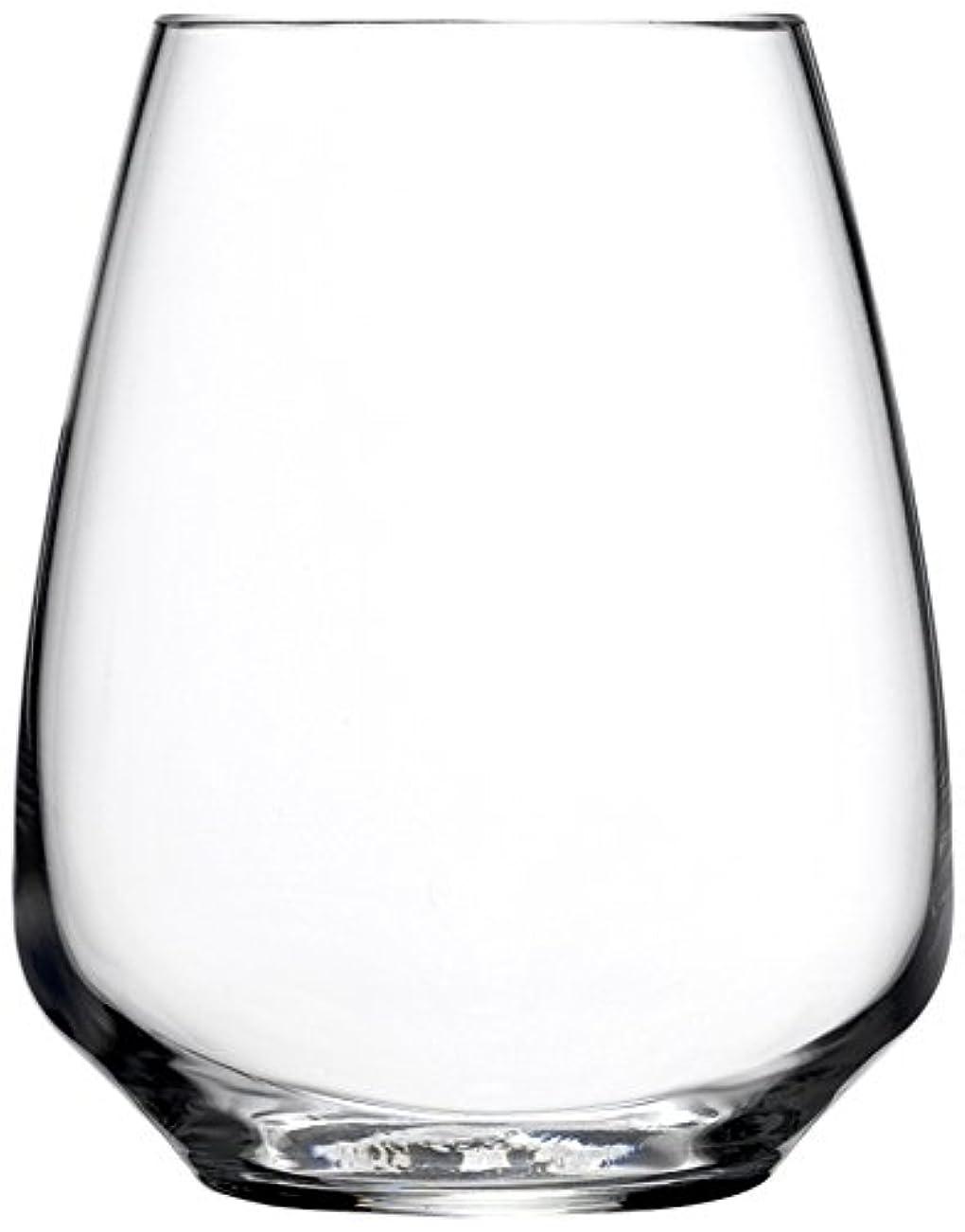 悪化する生じる印象Luigi Bormioli Atelier Stemless Rieslingワインガラス、414ml、6のセット