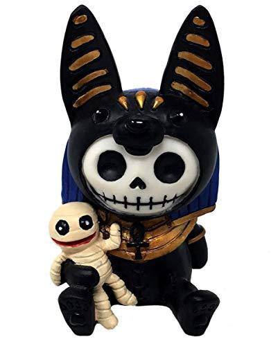Horror-Shop Kleine Anubis Furrybones Figur - die Geschenkidee für Gothic Fans
