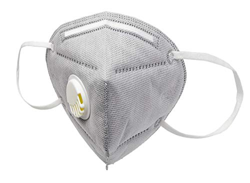 ALMAGO Reusable Face and Respiration Protection for Dust, Pollen, Exhaust, Air Pollution