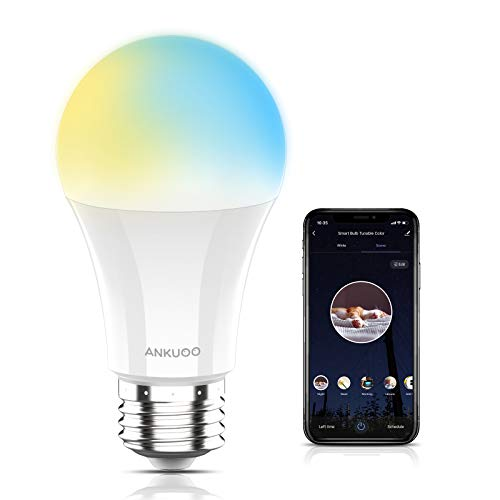 (28% OFF) WiFi Dimmable LED A19 E26 60W Equivalent Smart Bulb $4.54 Deal
