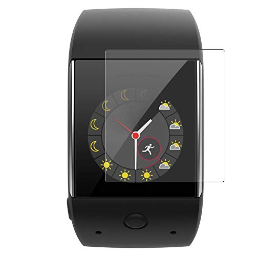 Vaxson 3 Stück Schutzfolie, kompatibel mit Polar M600 Smartwatch Hybrid Watch, Bildschirmschutzfolie TPU Folie [ nicht Panzerglas ]