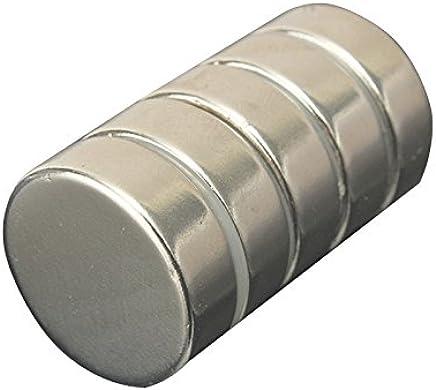 REFURBISHHOUSE 10 Pieces N52 Aimants en neodyme en forme de disque rond Aimants forts de terre rare 20mm x 3mm