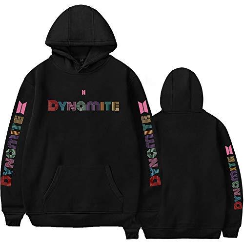 KPOP BTS Hoodie Jimin Jungkook V New Album Dynamite Merchandise Sweatshirt Sweater