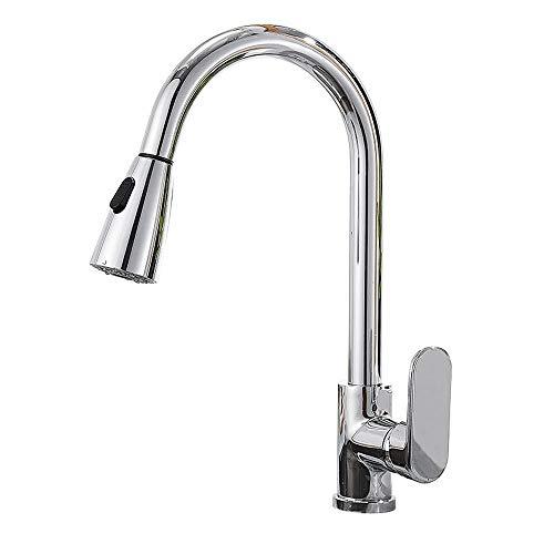 Grifo Faucet (agua); TAP; BIBCOCK El grifo del sensor táctil de la cocina toca el lavabo del plato de lavado de agua, la interrupción de la inducción y la cocina rotativa del hogar. Grifo frío y frío.