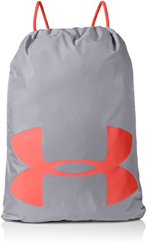 Under Armour unisex-adult Ozsee Elevated Reflective Sackpack , Steel (035)/Pierce ,One Size Fits All