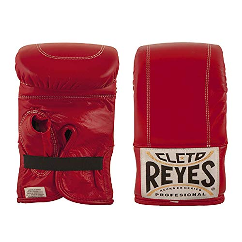 CLETO REYES Bag Gloves with Elastic Cuff for Man and Woman (Large, Classic Red)