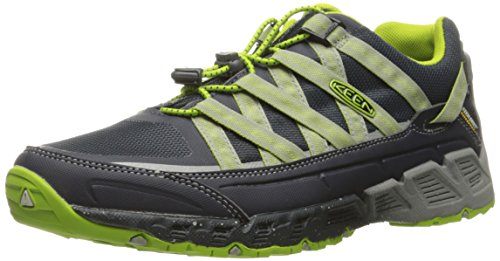 KEEN Men's Versatrail Waterproof Shoe, India Ink/Macaw, 8.5 M US