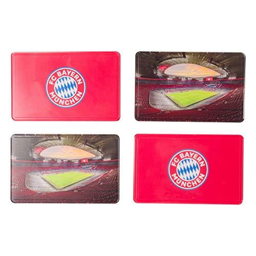 FC Bayern München Brotzeitbrett 4er Set