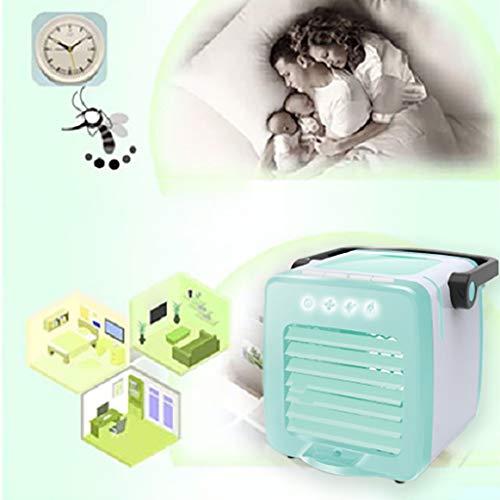YWLINK Aufladen Tragbar USB Süß Cartoon Klimaanlage Multifunktion Luftreiniger Luftbefeuchter Mit Aromatherapie Klimaanlage Fan 7 Farben Nachtlicht