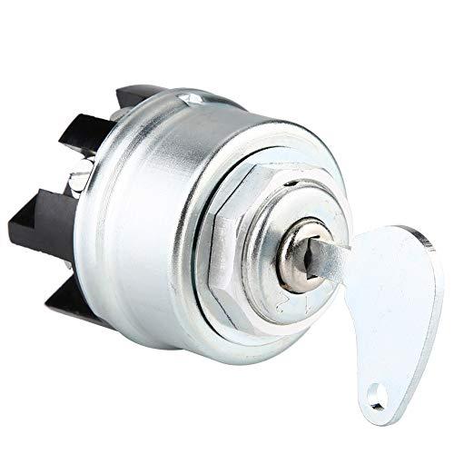 Interruptor de encendido: interruptor de llave de encendido Kirsite universal de alta calidad para vehículos, barcos, vehículos todo terreno