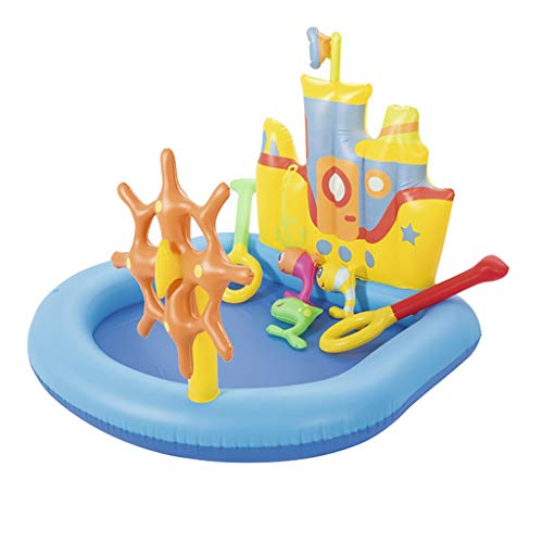 CQyg CQ Kreuzfahrt-Pool, Aufblasbares Kinderpool, Schlossspiel-Ozean-Ball-Pool-großer Weltraumfischerbecken