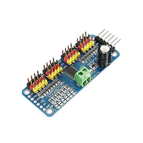 GzxLaY Accessori per droni, 2PCS PCA9685 Modulo I2C per servomotore PWM a 16 canali 16 canali a 12 Bit per Robot Arduino Accessori per quadricotteri RC Drone (Colore: 2PC)