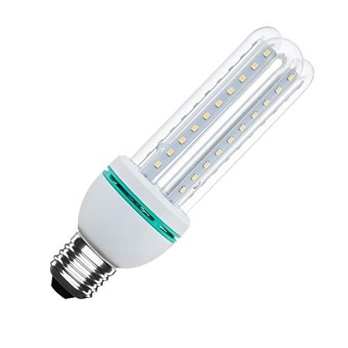 LEDKIA LIGHTING Bombilla LED CFL E27 Casquillo Gordo 12W Blanco Neutro 4500K