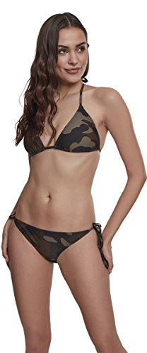 Urban Classics Damen Ladies Bikini-Set, Wood camo, M
