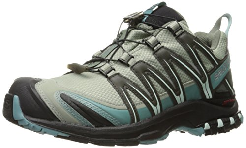 Salomon Women's XA PRO 3D CSWP W Trail Running, Shadow/Black/Artic, 7