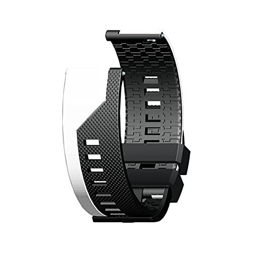 DLDQMY Correa de Reloj para Huawei GT 2 2E GT2E Banda de Reloj Inteligente para Xiaomi BIP S/Stratos 3 2S / GTS GTR 2 / GTR 47mm 42mm Correas (Color : 582 5, Size : 22MM Width)
